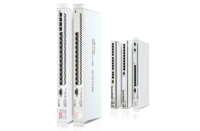 MikroTik Cloud Core Router & Cloud Router Switches