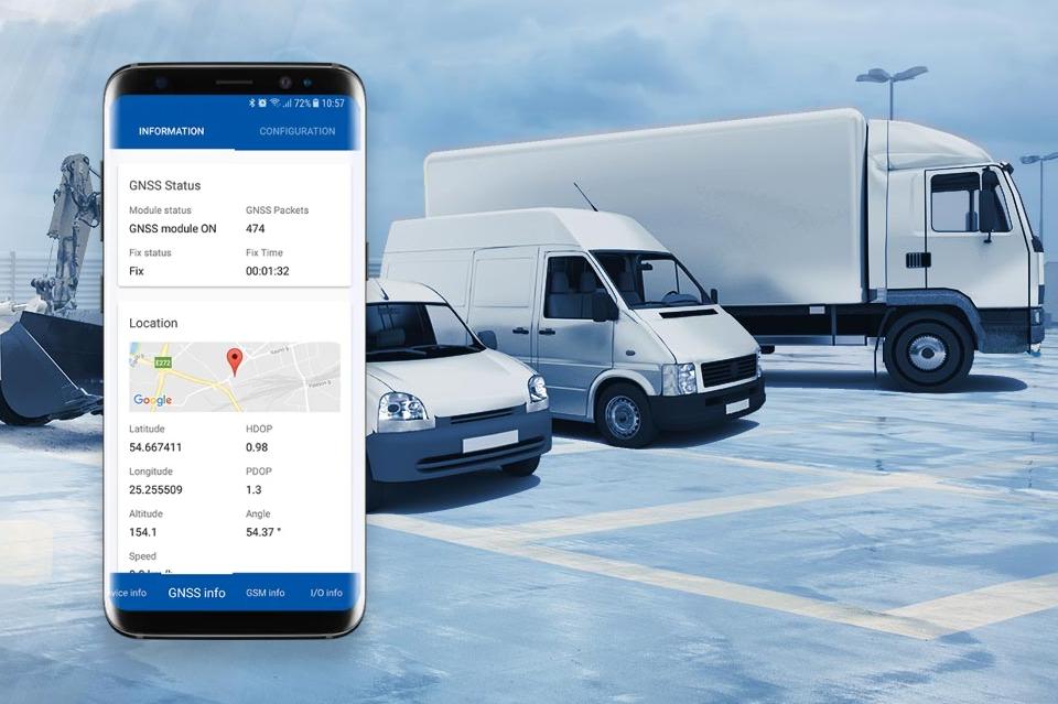 GPS CarControl - das Fahrzeug- und Flottenmanagement