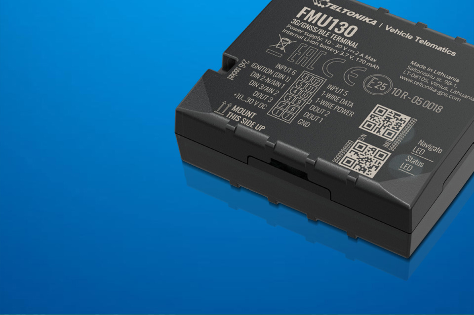 FMU130 - der neue Teltonika 3G Tracking-Terminal