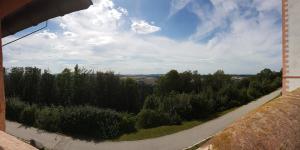 Ausblick vom Schloss Augustusburg