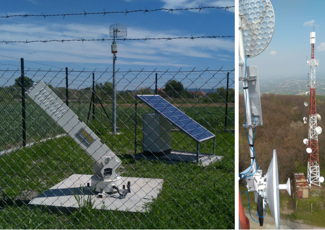 Installation in Serbia