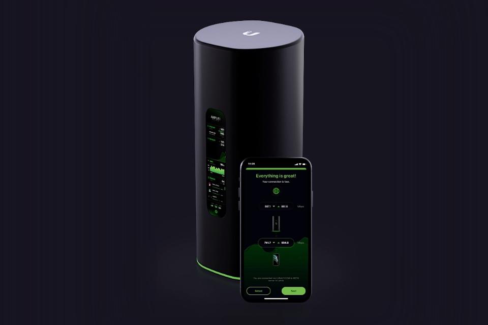 Alien Router - Ubiquiti AmpliFi
